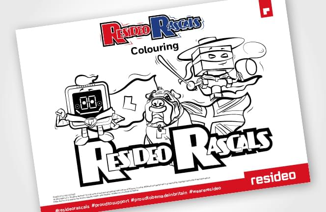 Resideo Rascals Colouring